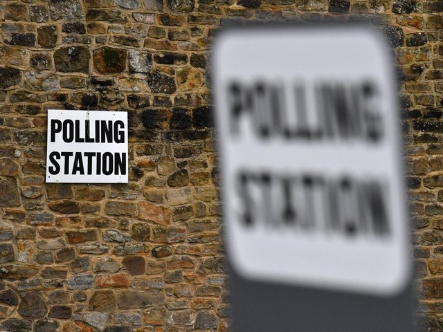 Voters go to the polls on Thursday, May 6.