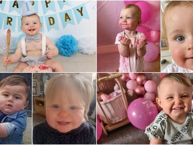 Happy 1st birthday, little ones!