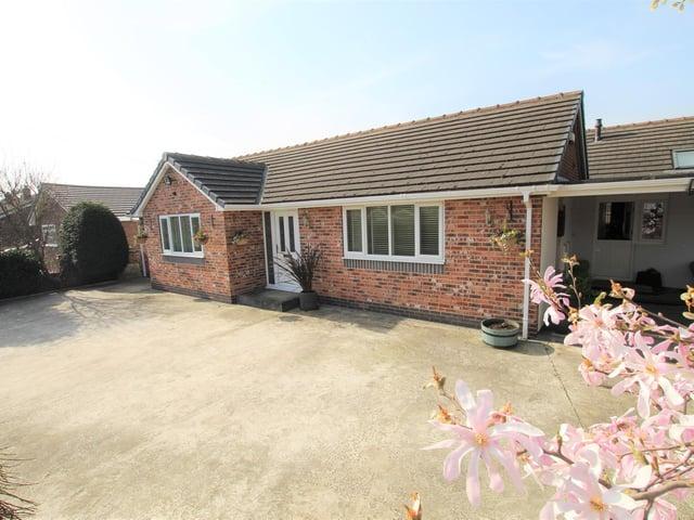 The bungalow on Ashgap Lane, Normanton