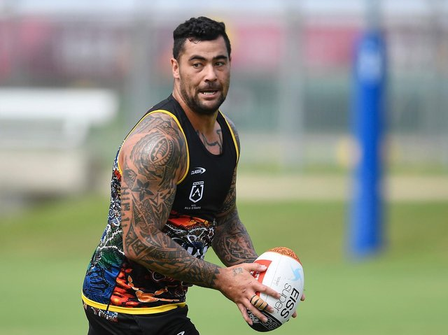 Andrew Fifita. Picture: Getty Images.