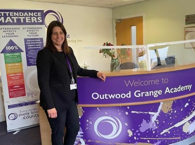 Sheriden Hutchinson-Jones is the new Principal at the Potovens-Lane based-Outwood Grange Academy