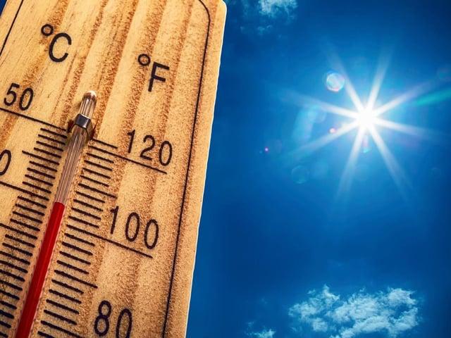 May could be bringing the hot sun, finally!