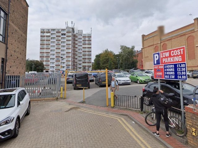 Part of the former Wakefield Express site on Southgate, next to The Ridings, was transformed for an initial two-year period,