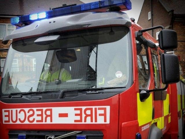 Fire crews have been rushed to a blaze in a field in Pontefract this afternoon.