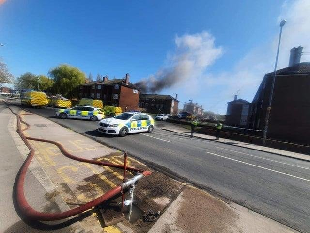 A Castleford house was badly damaged after an explosion and fire - this is everything we know so far. Photo: Debbie Stevens.