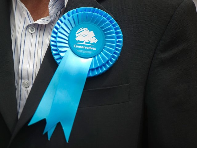 The Conservative hold 11 of the council's 63 seats.