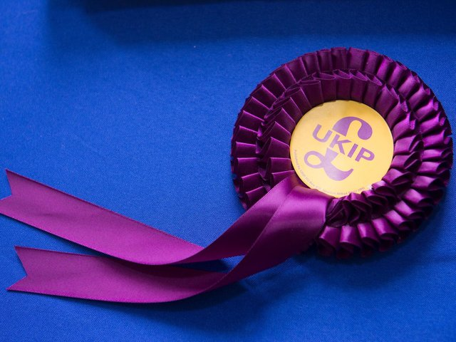 UKIP is fielding two local candidates.