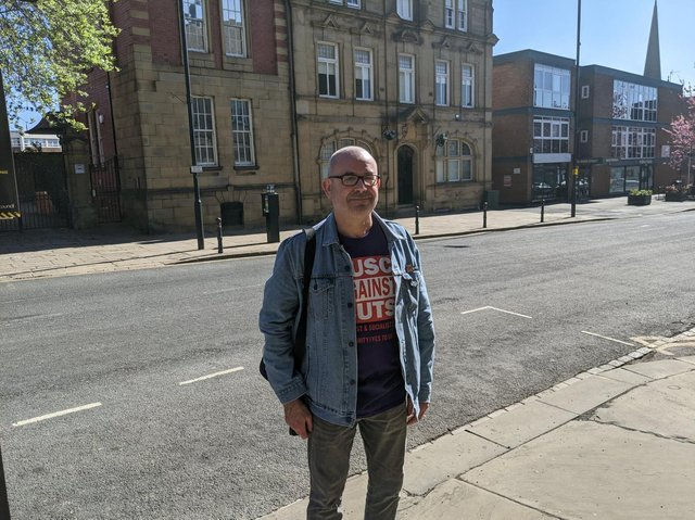 Mick Griffiths is standing for the Trade Union and Socialist Coalition (TUSC).