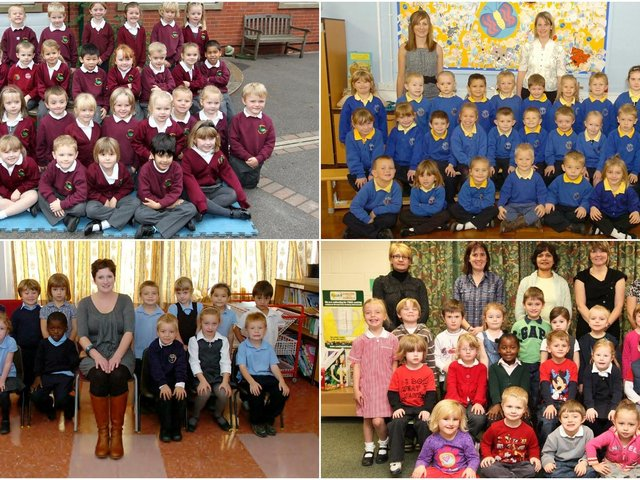 Take a look back at these adorable Wakefield school starter class photos from 2010