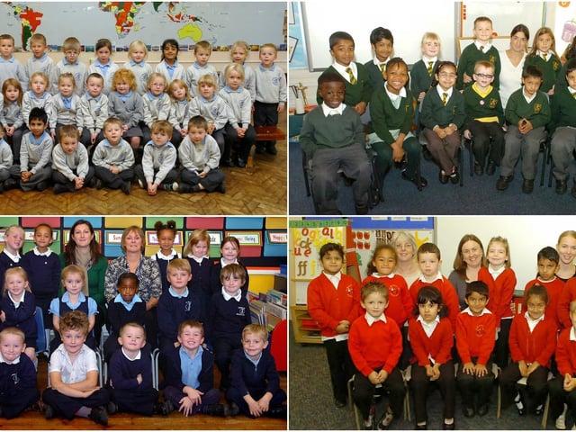 School starters in 2010.
