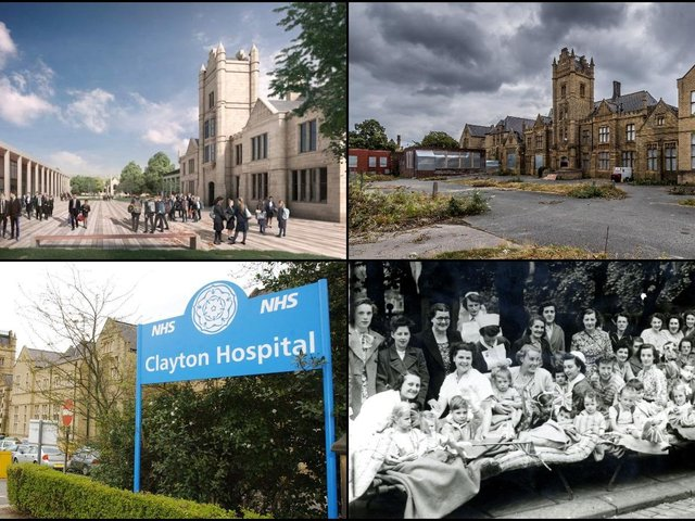 Clayton Hospital demolition: 19 pictures show 100 years of history at former Wakefield hospital as redevelopment plans approved
