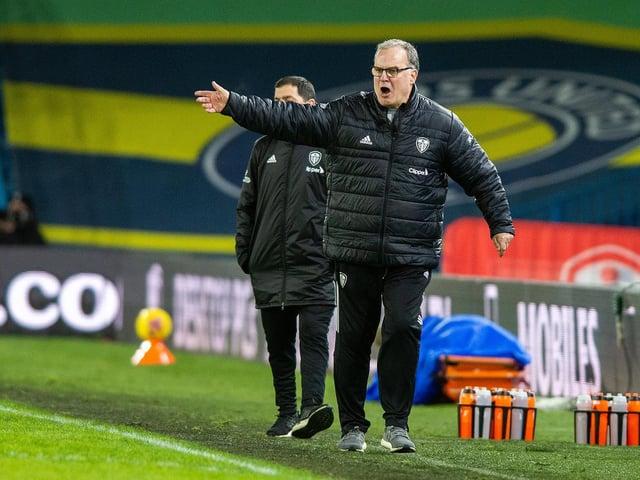 Marcelo Bielsa: Impressed with Leeds United's effort and energy.