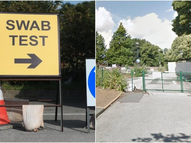 The Covid test site at Wakefield Waterfront is moving this week to the former Westgate Station car park.