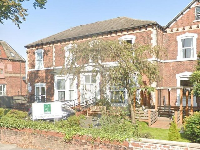 The care home, on Ferrybridge Road in Castleford.