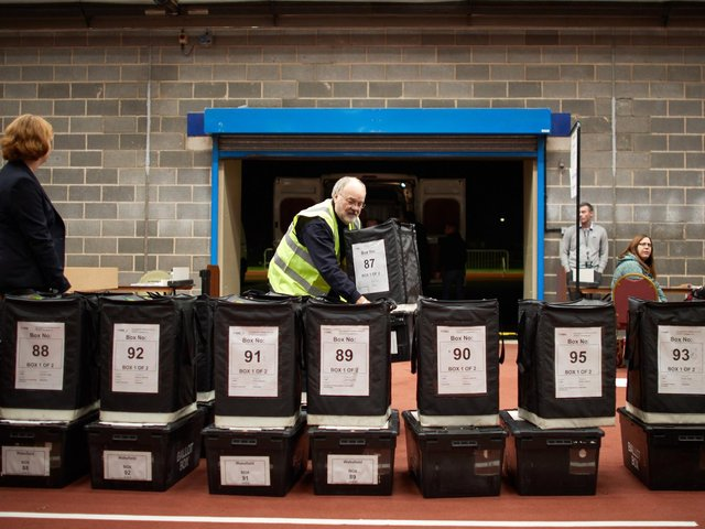 The election is just around the corner, and candidates across Wakefield and the Five Towns are making one final push for votes before the polls open. Pictured are votes being counted at Thornes Park Stadium - the process is likely to look a little different this year.