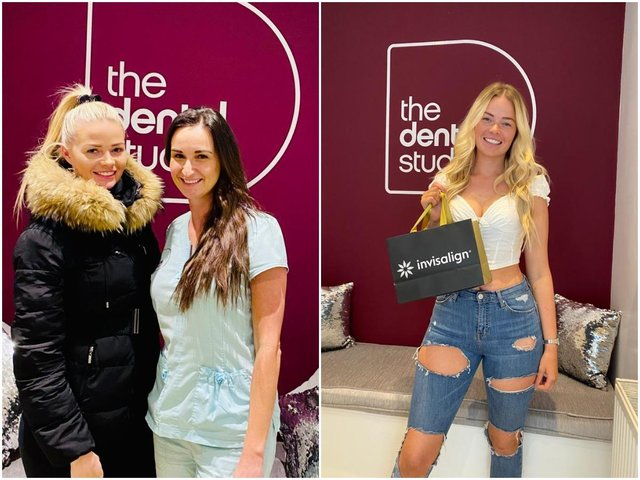 """Love Island star Jade Affleck has praised a Wakefield dentist for her treatment, which she says has left her with a """"perfect smile and heaps more confidence""""."""