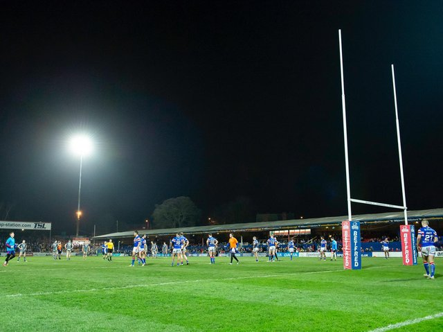 A member of staff at Wakefield Trinity has received a death threat in recent weeks, revealed chief executive Michael Carter. Picture: SWpix.com.