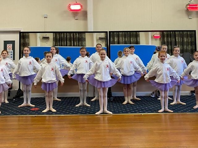 Crigglestone School of Dance have recently resumed training together after a long break due to the pandemic.