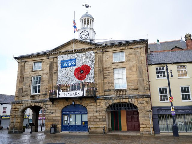 A community poppy display has come to life again to commemorate 100 years of the Royal British Legion