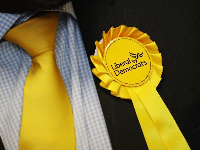 The Liberal Democrats are contesting seven seats.