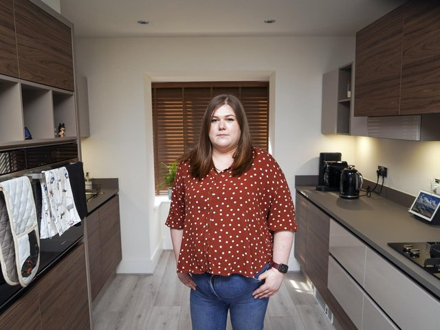 """A Pontefract nurse who discovered damaged units and a live wire poking out of the floor of her new-build house says the fight to have her home repaired has """"taken over her year""""."""