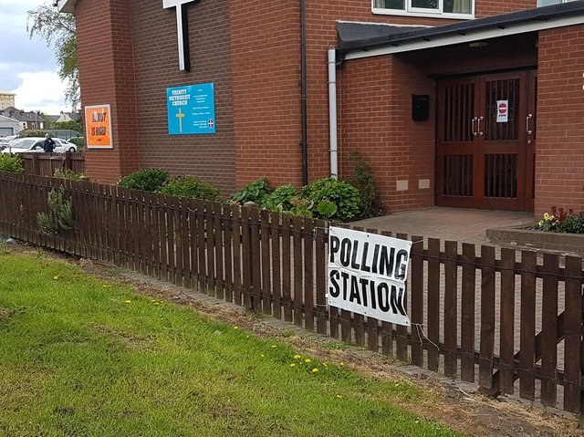 Polling stations are open from 7am until 10pm today.