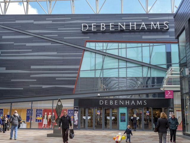 Wakefield's Debenhams store is set to close for the final time this weekend, almost exactly a decade after it first opened.