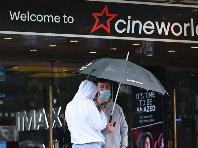 Cineworld cinemas in Wakefield and Castleford are expected to reopen next week, with new membership fees for Cineworld Unlimited members. Photo: JUSTIN TALLIS/AFP via Getty Images