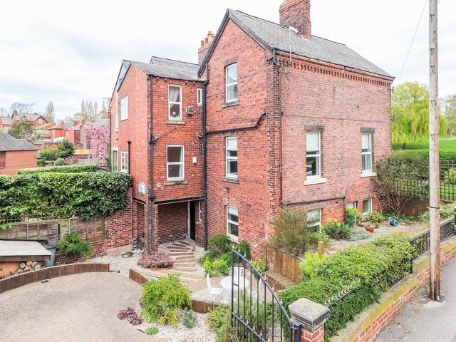 Three-storey home of character in a great spot, with gardens