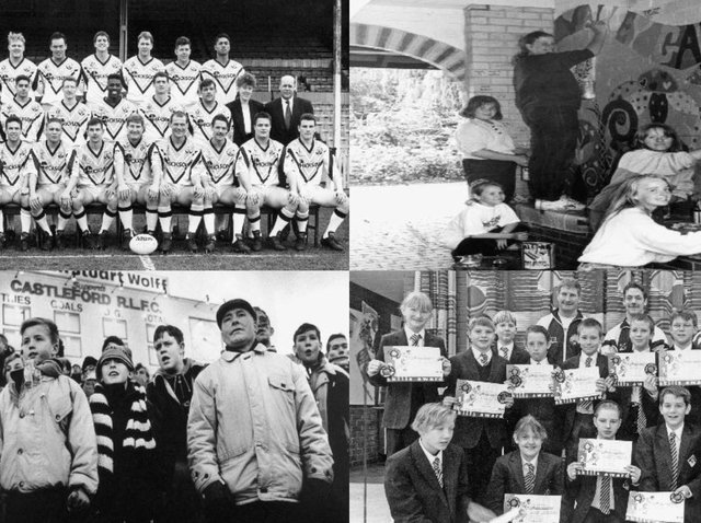 Here are 16 photographs that show us what life was like in Castleford back in the good old days...