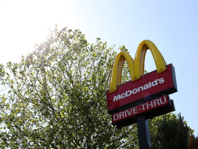 McDonald's branches in Wakefield, Pontefract and Castleford will reopen for indoor dining next week. Photo by Naomi Baker/Getty Images