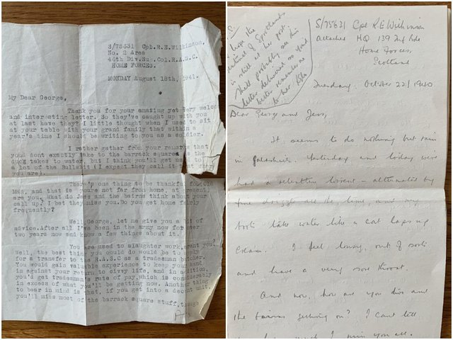 A woman from Scotland is hoping to reunite a set of historic letters with their original writer - a Second World War soldier who is believed to have come from Wakefield.