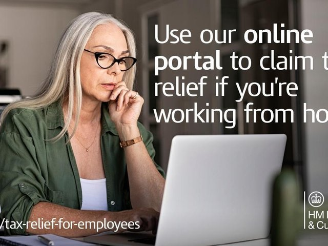 Working from home? You may be eligible to claim tax relief in 2021/22