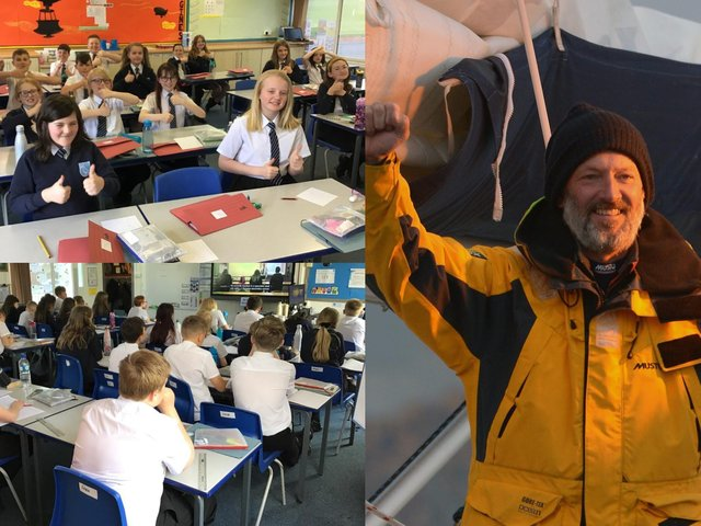 Educational visit from deaf sailor teaches Pontefract pupils about hearing loss