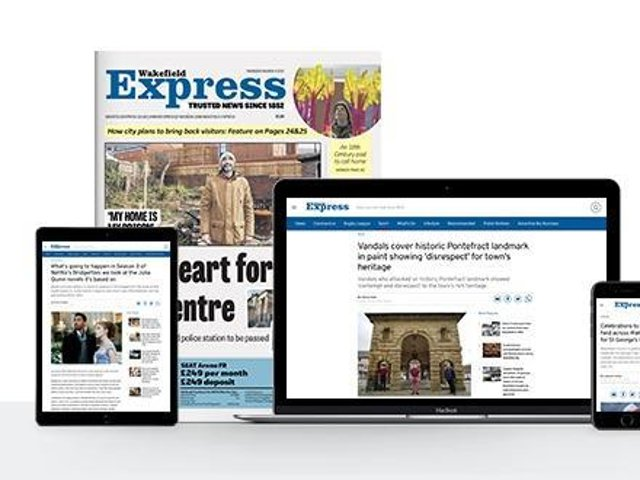 The Wakefield Express is proud to be the trusted local source of journalism for our readers, a position we have held for many years.
