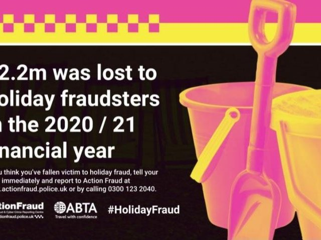 With the easing of lockdown we are keen to get away and to bag a good deal in the process.  (Action Fraud/WestYorkshirePolice)
