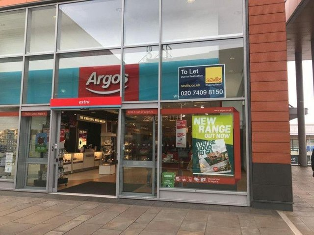 Both of Wakefield's Argos branches are set to close this year, to make way for a new city centre store. Pictured is the Trinity Walk branch in February 2019.