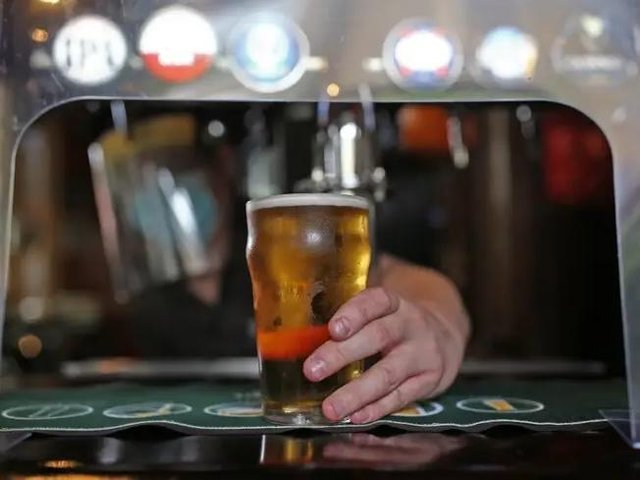 One punter spent a whopping £153.83 in just one purchase in a pub or restaurant.