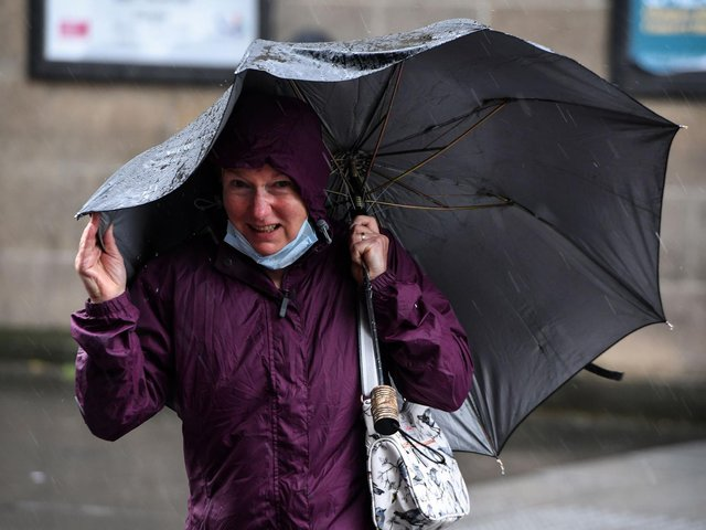 So when will it stop raining in Wakefield and the Five Towns, and can we look forward to any warmer days on the horizon? Photo by: ANDY BUCHANAN/AFP via Getty Images