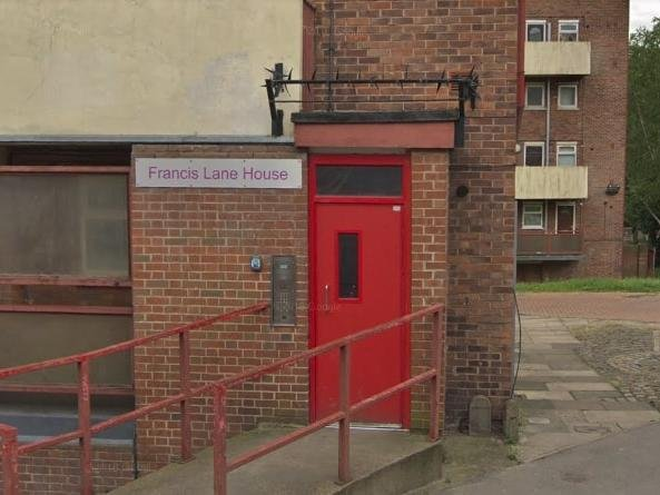 Casey Bellwood. 27, was found dead at his flat in Francis Lane House, Horsefair, Pontefract, on January 13. Picture: Google Maps.