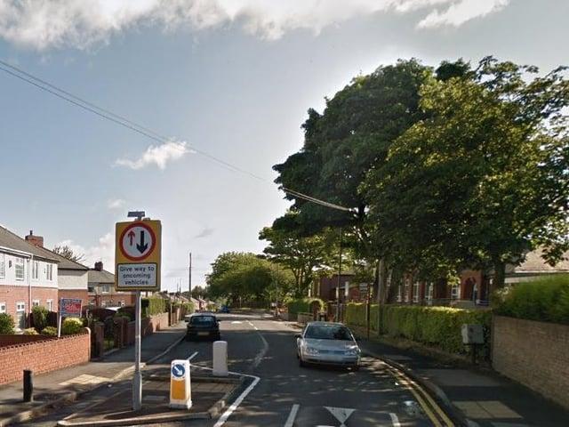 Traffic calming measures line Cow Lane in Havercroft.