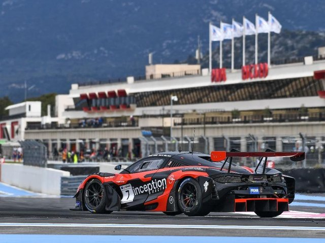 Inception, who are ready for a big test at the GT World Challenge event. Picture: Xynamic, Optimum Motorsport.