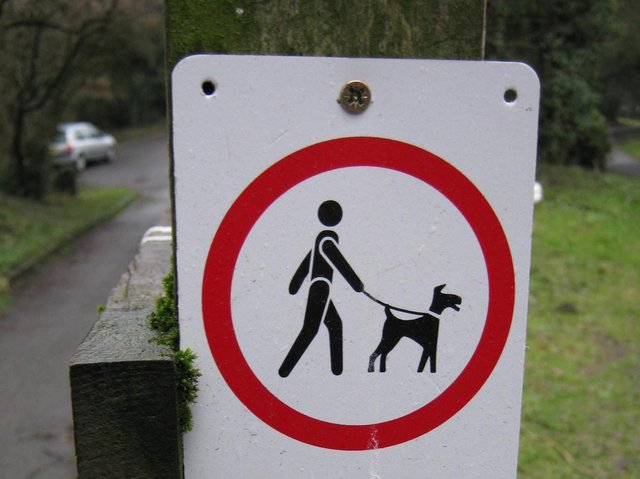 Always keep your dog under control and on a lead where signposted
