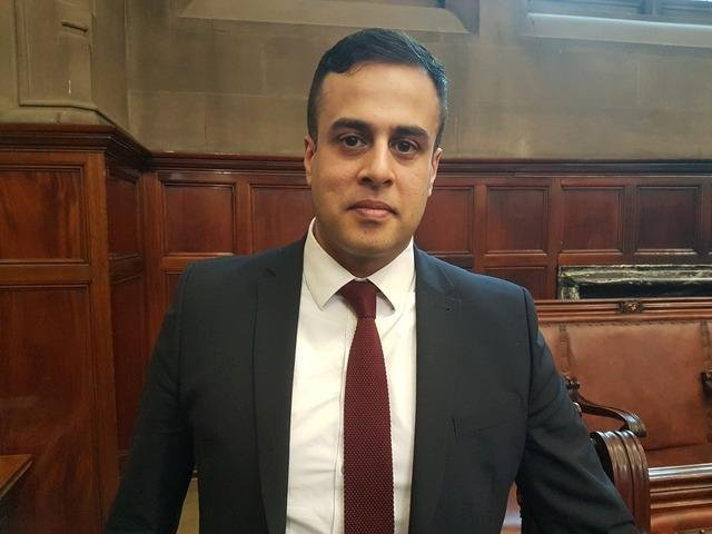 Coun Ahmed has been Tory group leader in Wakefield since 2014.