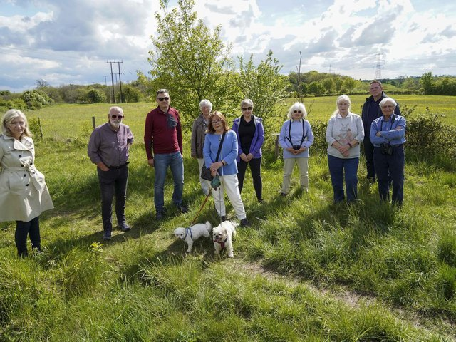 Hundreds of objectors from either side of the North Yorkshire-Wakefield district border fought against the plans.