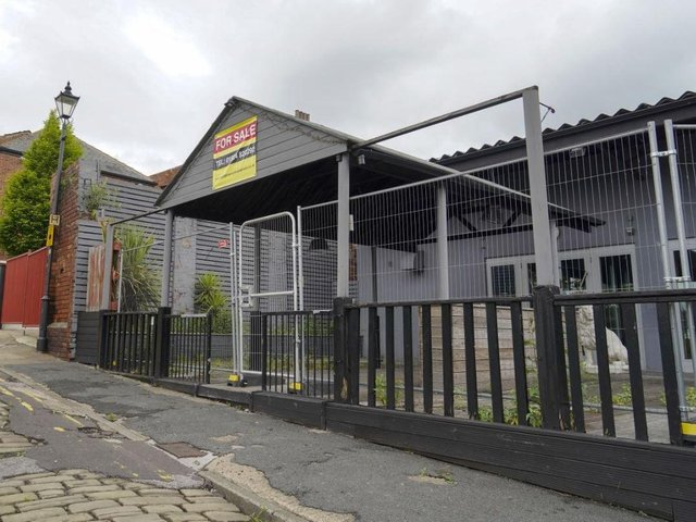 The old nightclub could become a hostel.