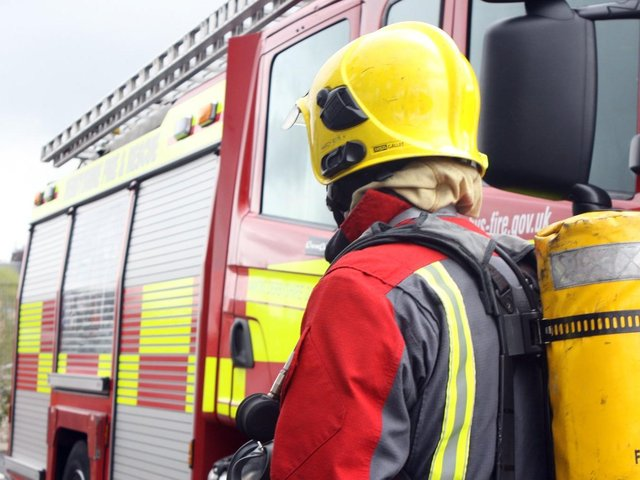 Firefighters (library pic)