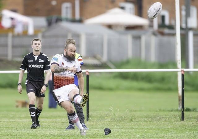 Eastmoor Dragons goal kicker Adie Mulcahy.