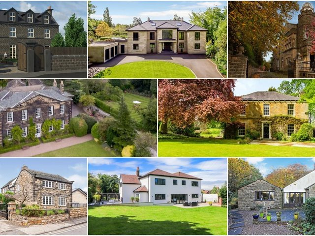 Magnificent mansions, cottages and hidden gems are among the priciest properties on the market in Wakefield.