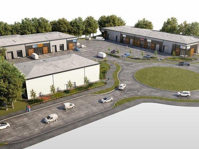 Artist's impression of how the development will look